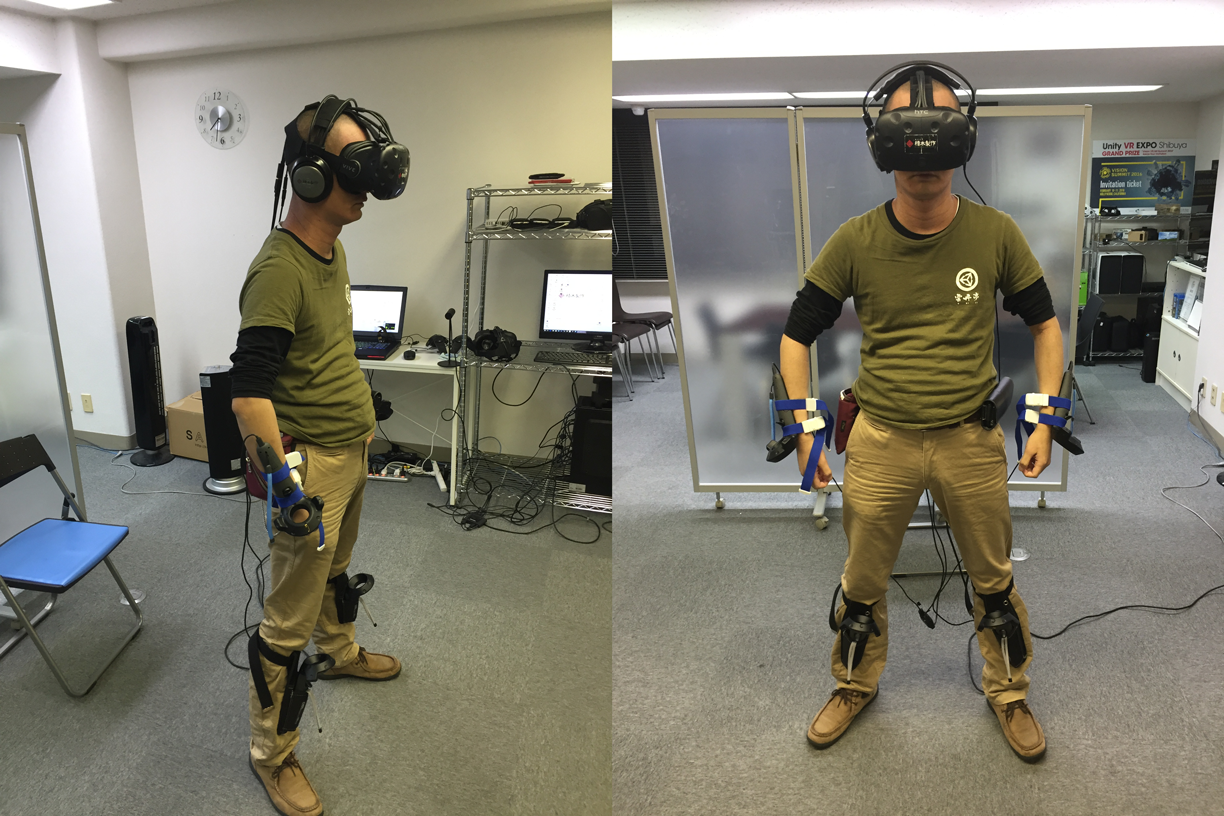 Vive Hands and Feet Tracking